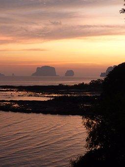 Sunset, Krabi, Thailand