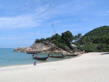 Boat, Thai, Beach, Thailand, Travel, Asia, Tropical
