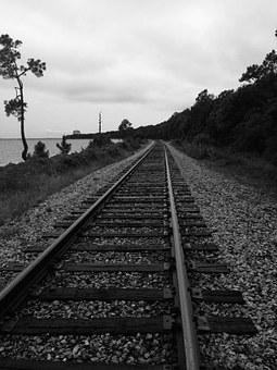 Rail, Beach, Sea, Nobody, Nature, Water, Path, Ocean