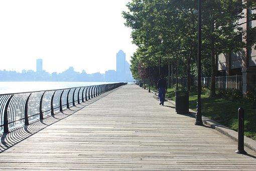 Jersey City, Boardwalk, Skyline