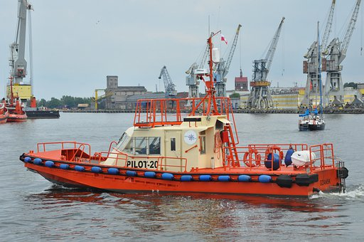 Ship, Tracker, Port, Boatyard, Sea