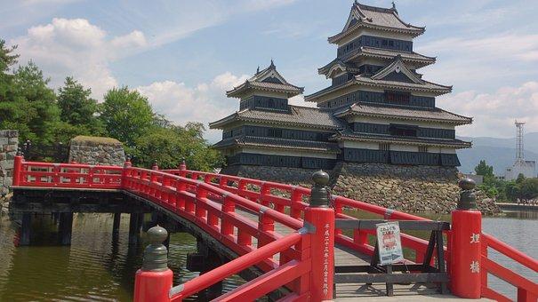 Japan, Castle, Matsumoto Castle, Castle Of Japan