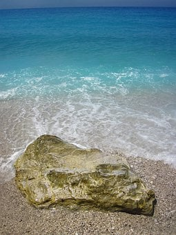 Bay, Beach, Blue, Foam, Fresh, Large, Nature, Ocean