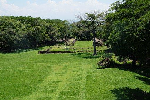 Landscape, Archeology, Ballgame, Culture, Pipil, Nature