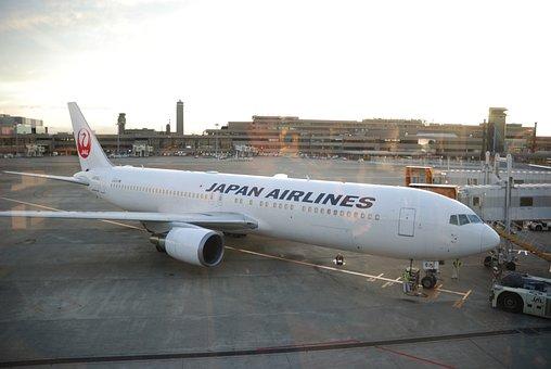 Aircraft, Airplane, Narita, Plane, Airport, Jet