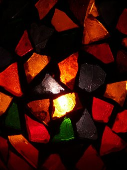 Glass, Colorful, Light, Color, Shimmer, Transparent