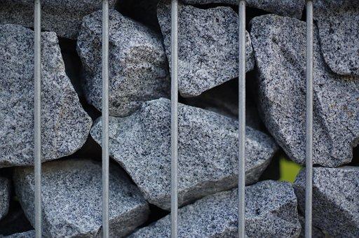 Stone, Grid, Rau, Grey, Hole, Walls, Texture, Structure
