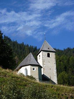 Switzerland, Graubünden, Churwalden, Church, Klosterhof