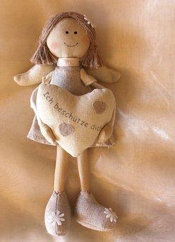Doll, Angel, Figure, Guardian Angel, Toys