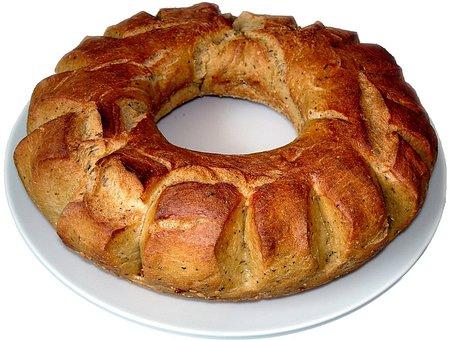 Bread Ring, Bread, Baked Bread