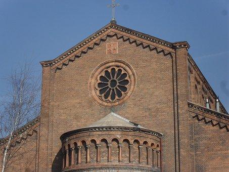 Church, Teplice, Bartholomew, Building, Roofs, Tourism