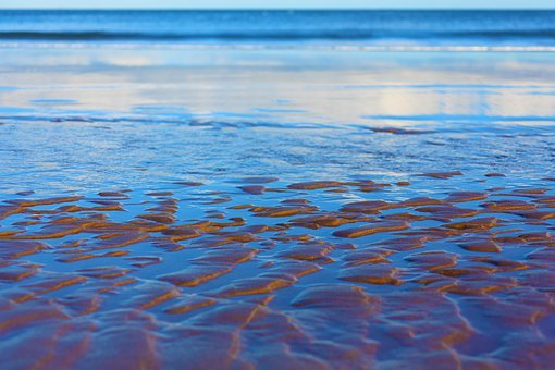 Background, Beach, Blue, Coast, Color, Nature, Ocean