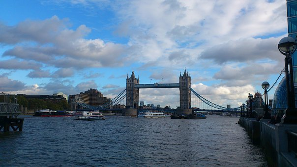 London, City, Sky, Clouds, Cities, Urban, Famous