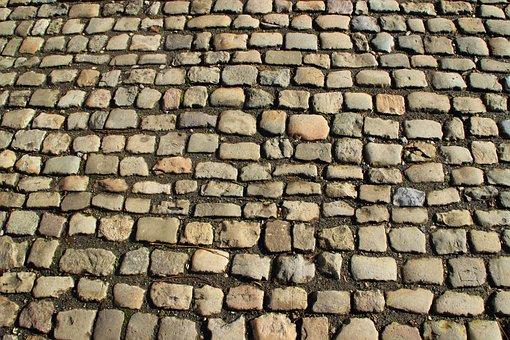 Cobblestones, Away, Patch, Paving Stones, Stones