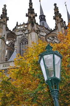 Lamp, Color, Temple