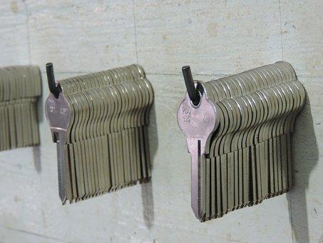 Keys, Set Of Keys, Panel