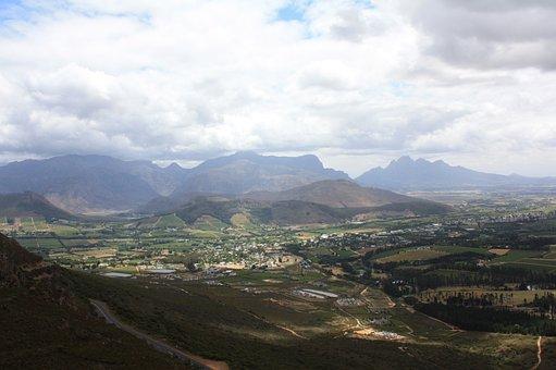 Franshhoek, Landscape, South Africa, Nature