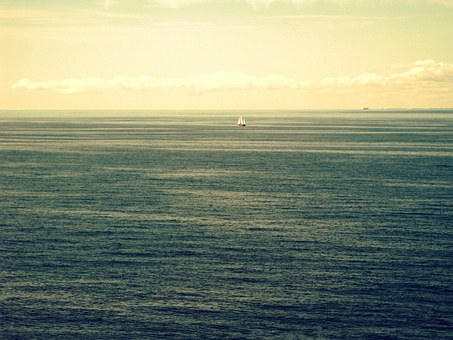 Sea, Sailor, Loneliness, Lonely, Boot, Ocean, Rest