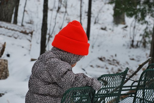Outdoor, Winter, Snow, Baby, Cold, Nature, Winter Mood