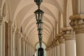 Architecture, Lamps, Column, Temple, Ancient, Travel