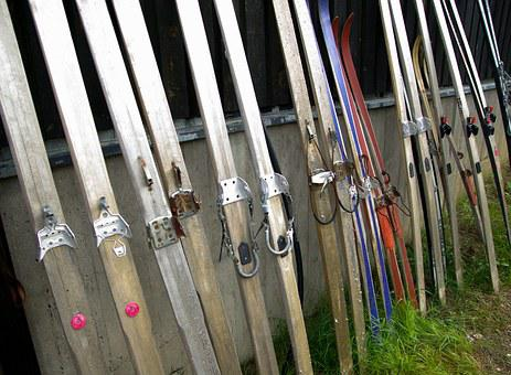 Finland, Wooden Skis, Collection