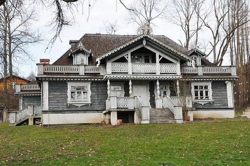 Leśniczówka, Cottage, House, Building, Architecture