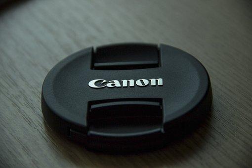 Canon, Lense, Cover, Logo, Brand, Photography