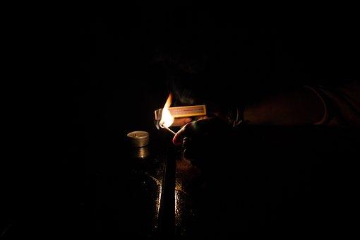 Fire, Lighting, Dark, Lucifer