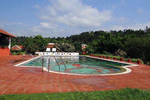 Swimming Pool, Pool, Ammathi, Kodagu, India