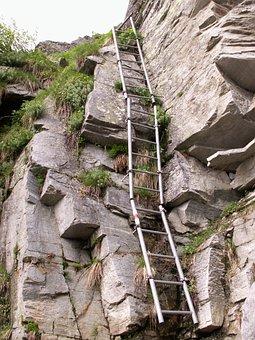 Trail, Head, Rock, Granite, Calancatal, Switzerland