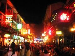 Yangshuo, Night, The Crowd