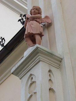 Trnava, Slovakia, Angel, Architecture