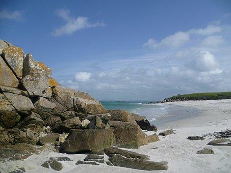 Isle Of Batz, Beach, Rock