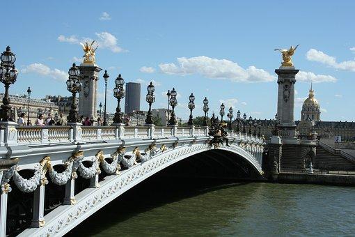 Pont Alexandre Iii, Paris, Bridge