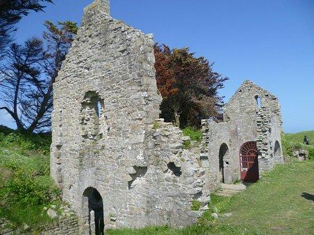 Isle Of Batz, Ruin, Church