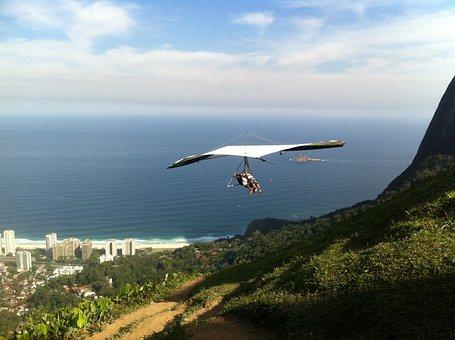 Flight, Free Flight, Hang Gliding, Adventure