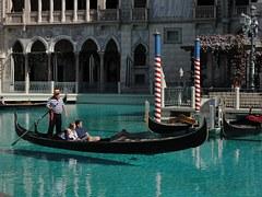 Venetian, Las Vegas, Gondolas, Casino, Hotel, Italian