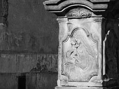 Column, Historical, Monument, Panna Maria, Old
