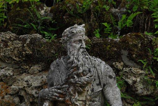 Stone Figure, Garden Statue, Sculpture, Park Jewelry