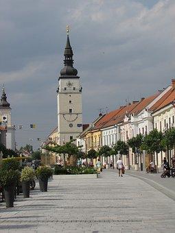 Trnava, Slovakia, Center, Street