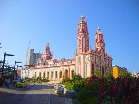 Churches, Barranquilla, Colombia, Architecture