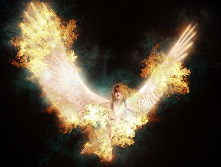 Fallen Angel, Heaven, Hell, Angel, Fallen, Fantasy