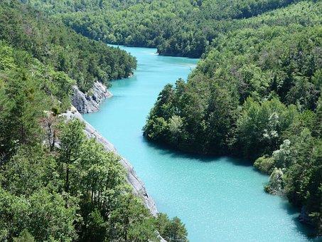 Landscape, Lake, Nature, Summer, Hautes Alpes