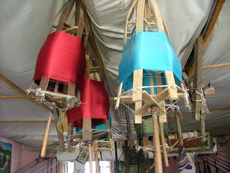 Silk Mill, Silk, Weaving