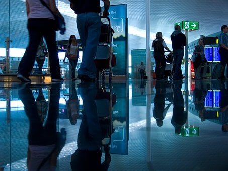 Airport, Passenger, Infrastructure, Tourism, Reflection