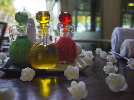 Essential Oil, Spa, Treatment, Aromatherapy, Essential