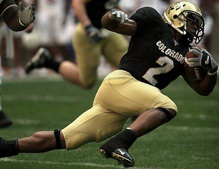 American Football, Action, Runner, Ball Carrier
