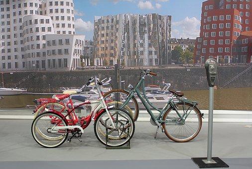Bike Park Place, Bike Racks, City, Düsseldorf