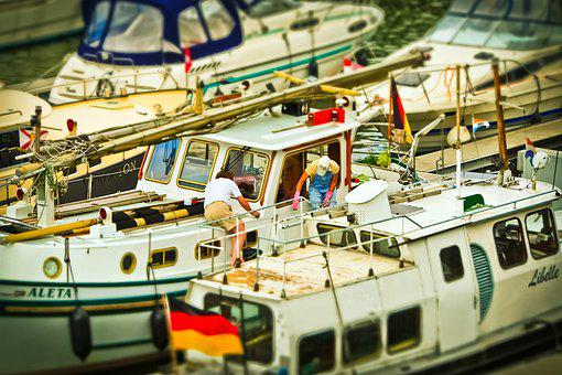 Boot, Port, Boats In The Harbor, Anchorage, Yachts