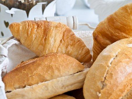 Roll, Breakfast, Bakery, Eat, Weizenbroetchen, Food